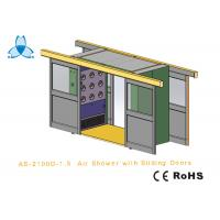 Wholesale Cargo CleanRoom Air Shower With Width 1600mm Automatic Double - Leaf Sliding Doors from china suppliers
