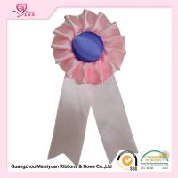 Wholesale Custom Greeting handmade satin ribbon flowers washable Vivid color from china suppliers