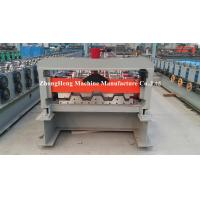 Wholesale Metal Trapezoidal Sheet Floor Deck Roll Forming Machine With 28 Roller Stations from china suppliers