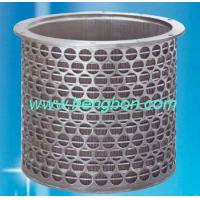 Wholesale Wedge Wire Screen basket for paper machine from china suppliers