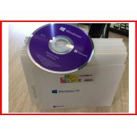 Wholesale 32 Bit 64 Bit Windows10 Professional DVD Media With OEM License Key COA Sticker from china suppliers