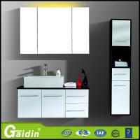 Wholesale wall mounted best quality furniture bathroom furniture high cabinet aluminum alloy bathroom mirror cabinet from china suppliers