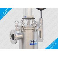 Wholesale Low Cost Industrial Inline Water Filter For Soap , High Performance Raw Water Filter from china suppliers