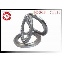 Buy cheap 51117 Machinery  Ball Bearing Gcr15 High Precision  High Speed ABEC-5 from wholesalers