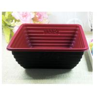 Wholesale Black Square Take Away Disposable Food Trays Eco Friendly 750ml from china suppliers