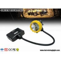 Buy cheap 3.7V 450mA Rechargeable LED Headlamp Semi - Cord Helmet Mounted Lamp from wholesalers