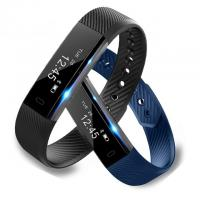 Wholesale Smart Bracelet Fitness Tracker Watch Alarm Clock Step Counter Smart Wristband Band Sport Sleep Monitor Smartband from china suppliers