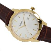 Wholesale Japan quartz movement analog watch steel case leather wrist watch for men from china suppliers