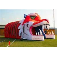 Wholesale Giant Inflatable Tiger Tunnel, Infaltable Tunnel For Outdoor Advertising from china suppliers