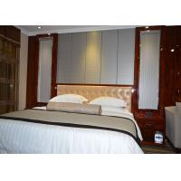 Wholesale Custom Rosewood Shiny Color Finish Star Hilton Hotel Bedroom Furniture from china suppliers