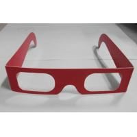 Wholesale Customized Chromadepth 3D Glasses In Red For 3D Drawing Picture EN71 ROHS from china suppliers