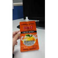 Wholesale Food Grade Liquid Stand Up Spout Pouch 50ml , Reusable Stand Up Water Pouch from china suppliers