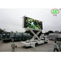 Wholesale outdoor p6  full color advertising led screen installed on a  truck with high brightness from china suppliers