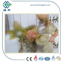 Wholesale Solid Clear / Colored Frosted Patterned Glass for office conference rooms from china suppliers