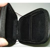 Wholesale Anti Scratch Durable Leather Camera Pouches , Black Zipper EVA Hard Cases from china suppliers