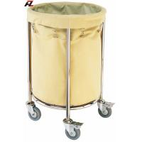 Wholesale Hotel Stainless Steel Rolling Linen Trolley-Laundry Trolleys from china suppliers