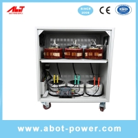 Wholesale ABOT 3 Phase SVC TND 10KVA Servo Type Voltage Regulator AVR For CNC Machine from china suppliers