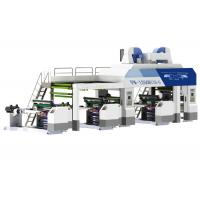 Quality Fully Automatic Solventless Lamination Machine Speed 338m/min With Five Rollers Trolley for sale