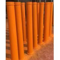 Wholesale 45Mn2 55Mn Twin Wall Concrete Pump Pipe , Hardened Pipe For PM / Zoomlion Pump Car from china suppliers