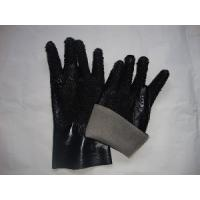 Wholesale Abrasive resistant interlock lining cotton inner PVC plastic Coated Work Glove from china suppliers