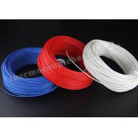 Wholesale Electric Heater High Temperature Cable , Silicon Rubber Insulated Heating Wire from china suppliers