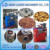 Wholesale Commercial electric gas automatic coffee roasting equipment from china suppliers