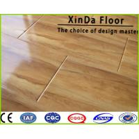 Wholesale size ac3/4/5 hdf water resistant waxed click composite decking laminate flooring from china suppliers