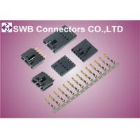 Wholesale Comapct 2.54 mm Pitch Connectors Single Row With Lock Dip Type Molex Replacement from china suppliers