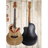 Wholesale 40 inch Electric Ovation Guitar roundback from china suppliers
