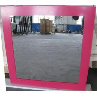 Wholesale 3mm 6mm Clear Silver Processed Mirror Glass Wall Mounted , Silkscreen Printed from china suppliers
