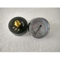 Wholesale Black Back Entry Dry Pressure Gauge with Steel Black Case Pressure Gauge from china suppliers