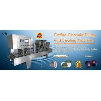 Wholesale Linear Type Coffee Capsules Filling Sealing Machine from china suppliers