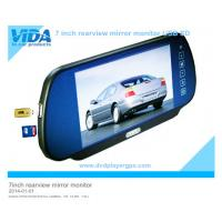 Wholesale 7inch Car Rearview Mirror Monitor with MP5 USB SD bluetooth from china suppliers