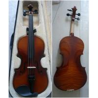 Wholesale Classic Decorative Flamed Maple Popular Handmade Violin 4/4 Size AGV-2 from china suppliers