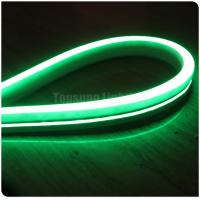 Buy cheap 220v 2835 120 leds neon tube 11x19mm green color slim led neon flex outdoor flat surface from wholesalers