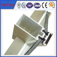 Wholesale New! aluminum wall profiles, aluminum extrusion profiles, curtain wall aluminium profile from china suppliers