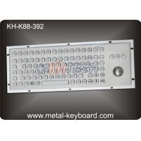 Wholesale Ruggedized Industrial Keyboard with Trackball , SS Stainless Steel Keyboard from china suppliers