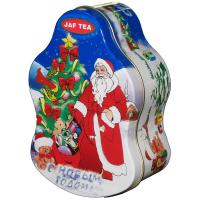 Wholesale Santa Claus Metal Tin Container For Christmas Holidays , Custom Box from china suppliers