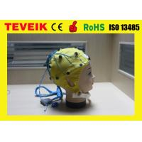 Wholesale High Precision EEG Electrode Cap With Different Sensor Electrodes 16 ~ 128 Channel from china suppliers