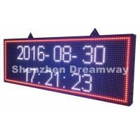 Wholesale SMD3535 P 10 Outdoor LED Moving Message Display / 6,000 nits LED Moving Display Sign from china suppliers