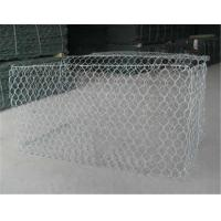 Wholesale Galvanized Wire Gabion Baskets For Chook / Chicken 2.0-4.0mm Wire Dia from china suppliers
