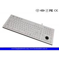 Wholesale IP68 106 Keys Waterproof Silicone Keyboard Built In Trackball And Backlight from china suppliers