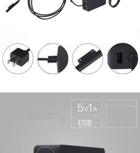 Quality 12V 2.58A 36W laptop adapter for Microsoft Surface Pro 3 1625 Pro 4 I5 1631 charger 5V 1A USB Port US EU plug for sale