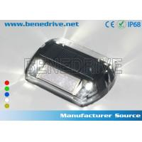 Wholesale Solar Powered LED Plastic Road Stud IP68 Outdoor 100X100X20 mm from china suppliers