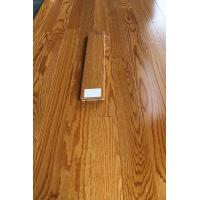 Wholesale Red oak solid hardwood flooring, smooth surface, color butter rum from china suppliers