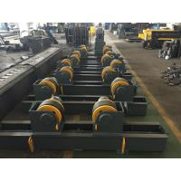 Wholesale Rubber Wheels Automatic Welding Tank Turning Rolls Yellow Painting Screw Adjustment from china suppliers