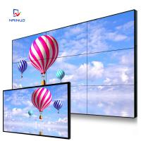 Wholesale Business Commercial Video Wall 9 Screen / 1080 Resolution Big Lcd Screen Advertising from china suppliers