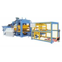 Wholesale Full Automatic Concrete Block Making Machine With PLC System Electricity Motor from china suppliers