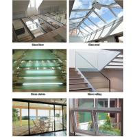 Wholesale PVB Film Polycarbonate Laminated Glass / Glass Laminated Windows Soundproofing from china suppliers