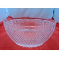 Wholesale Customized Food-grade 100%  Clear Acrylic Bowl For Fruit Salad from china suppliers